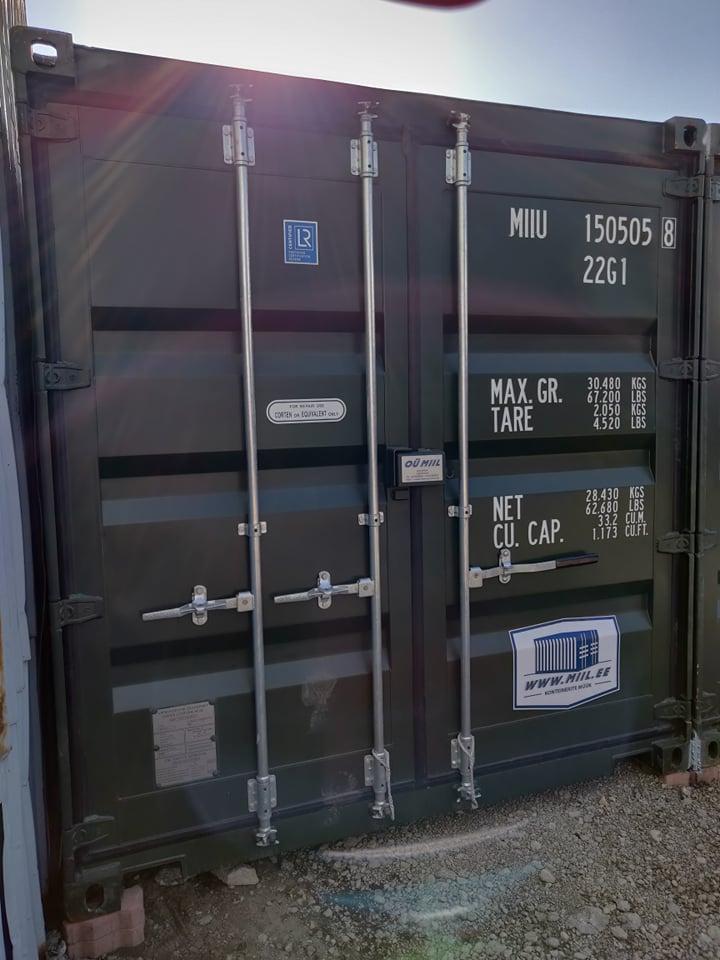 Uus konteinerladu NR 14 – MIIU1505058