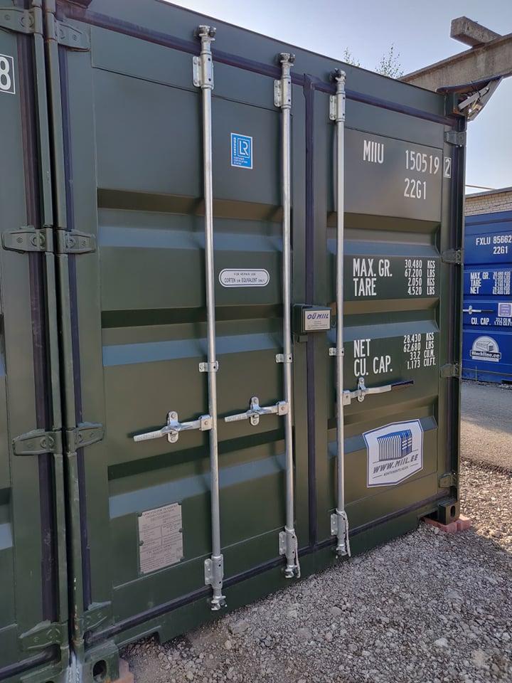 Uus konteinerladu NR 15 – MIIU1505192